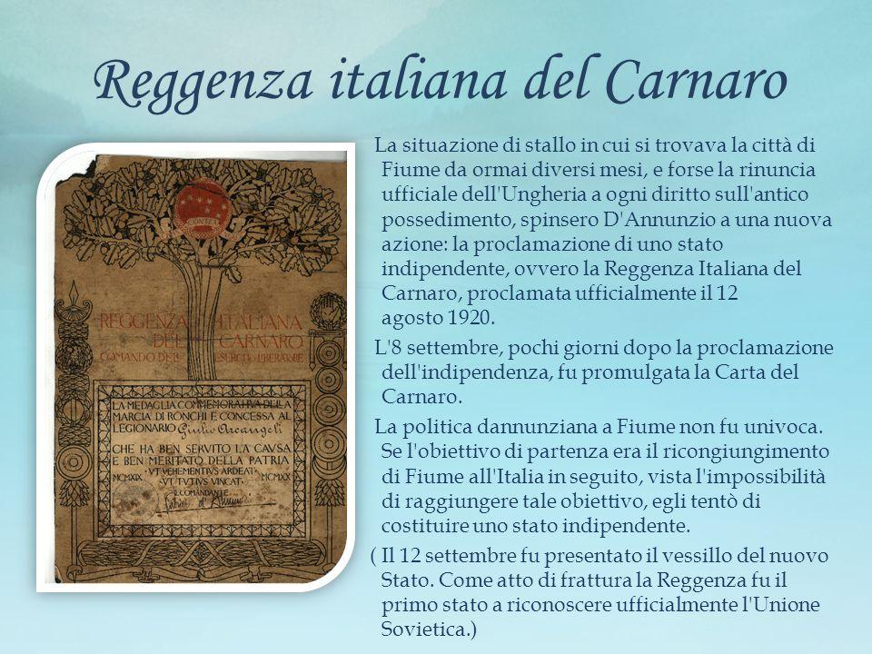 Reggenza italiana del Carnaro