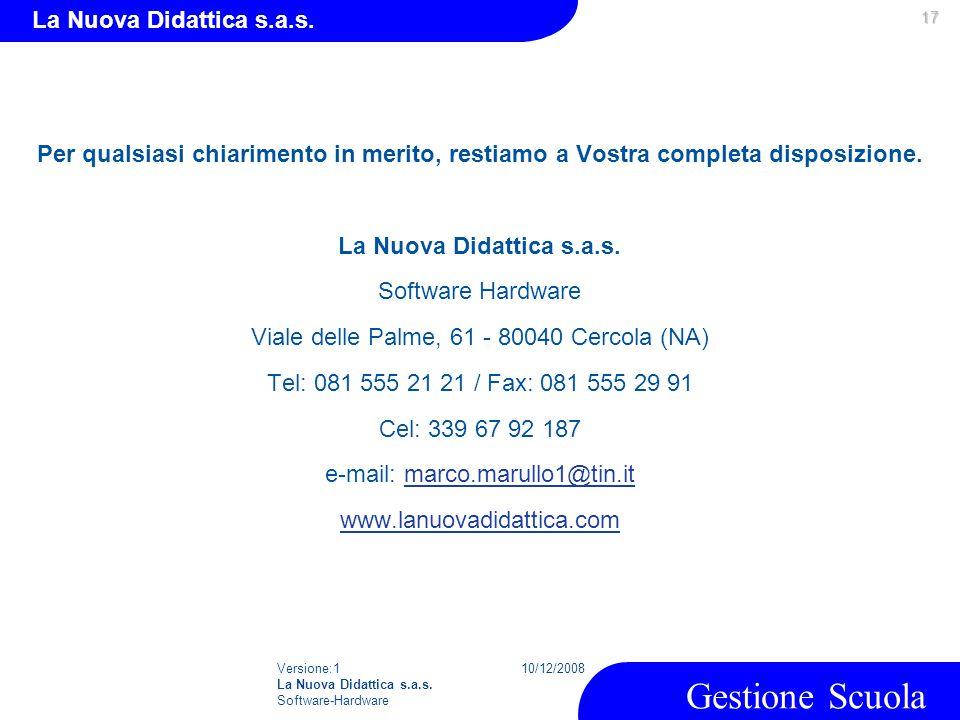 La Nuova Didattica s.a.s.