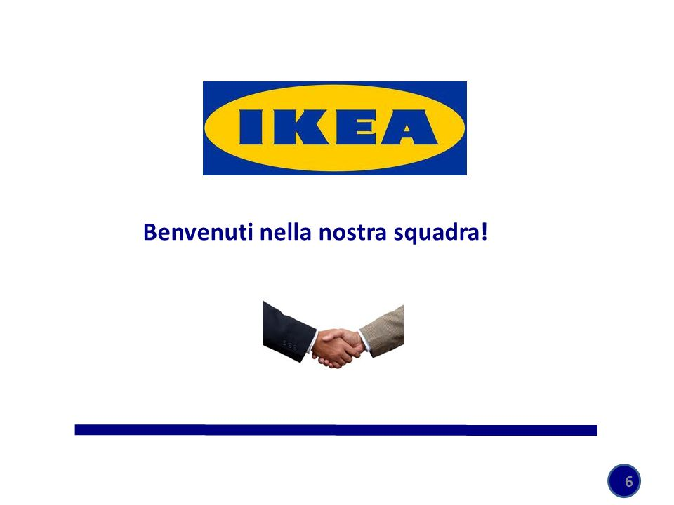 Benvenuti nella nostra squadra!