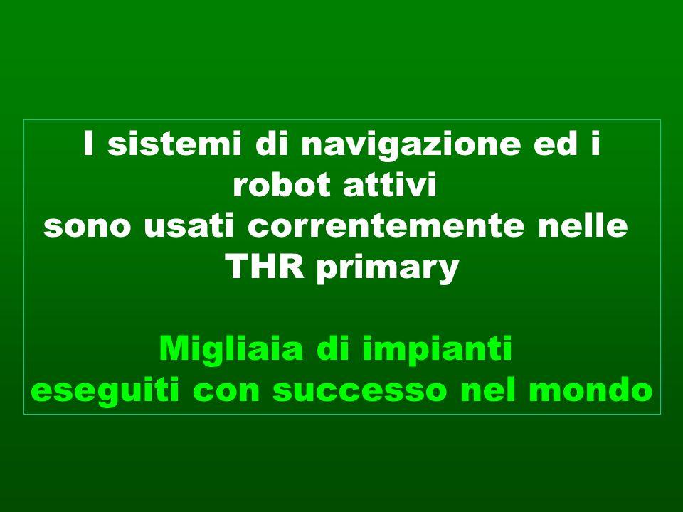 I sistemi di navigazione ed i robot attivi