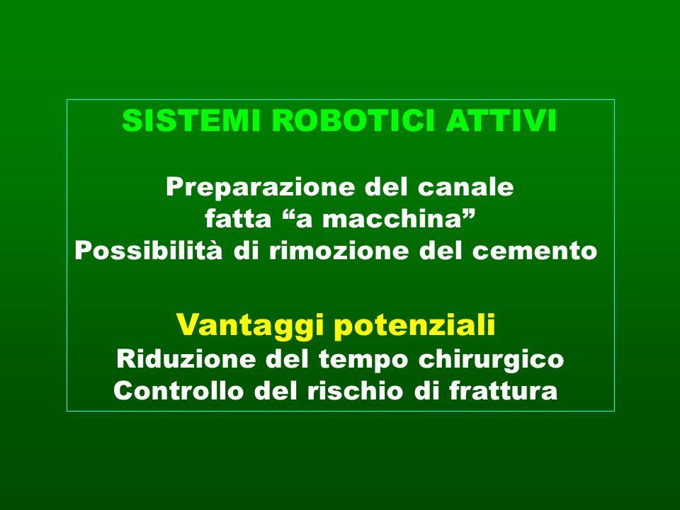 SISTEMI ROBOTICI ATTIVI