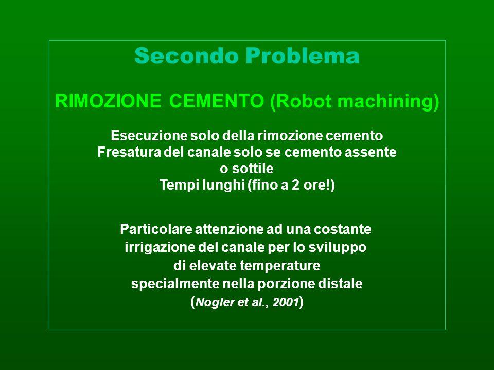 Secondo Problema RIMOZIONE CEMENTO (Robot machining)