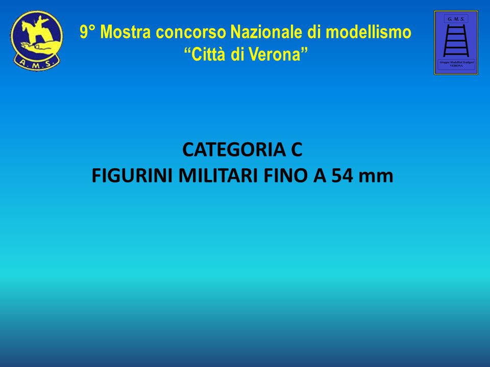 CATEGORIA C FIGURINI MILITARI FINO A 54 mm