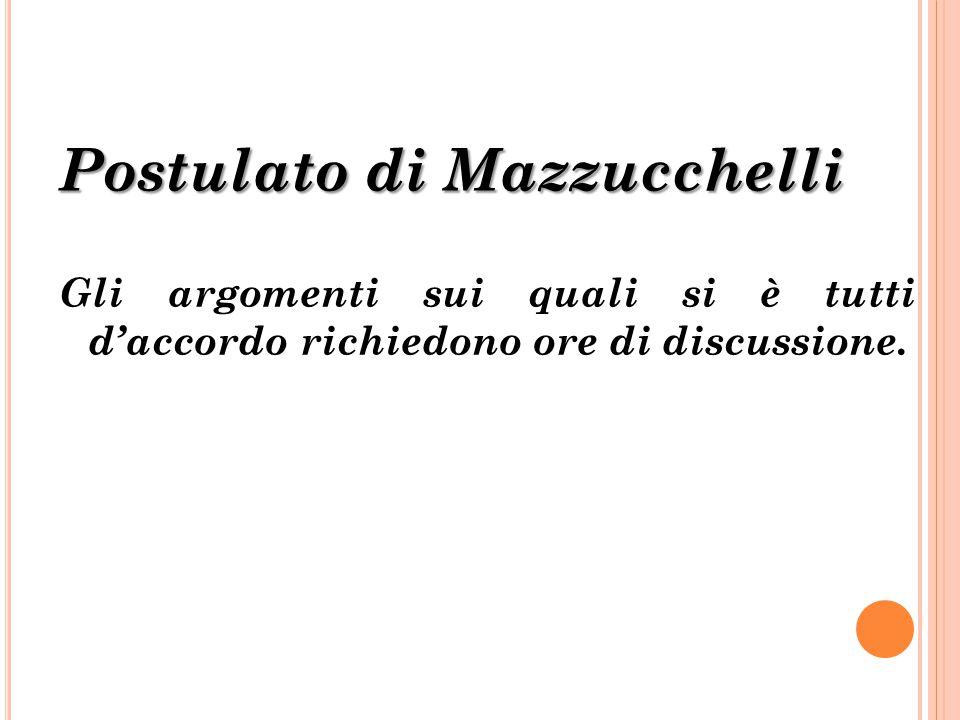 Postulato di Mazzucchelli