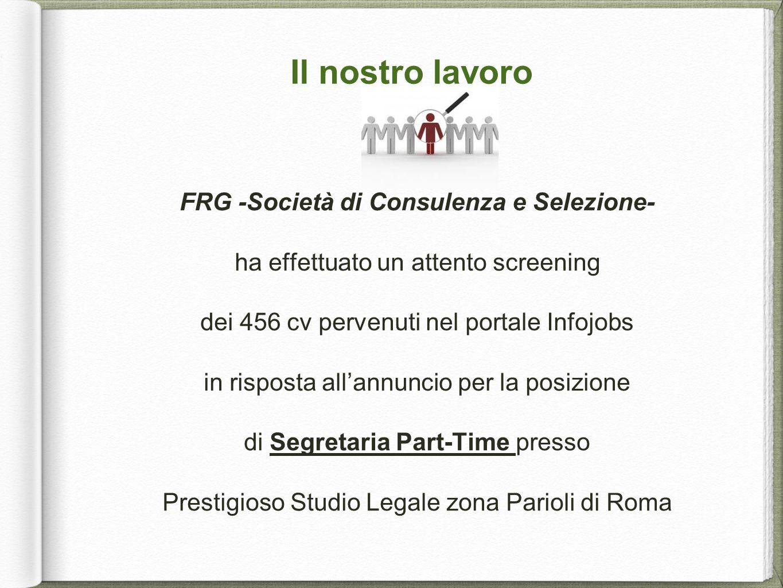 FRG -Società di Consulenza e Selezione-