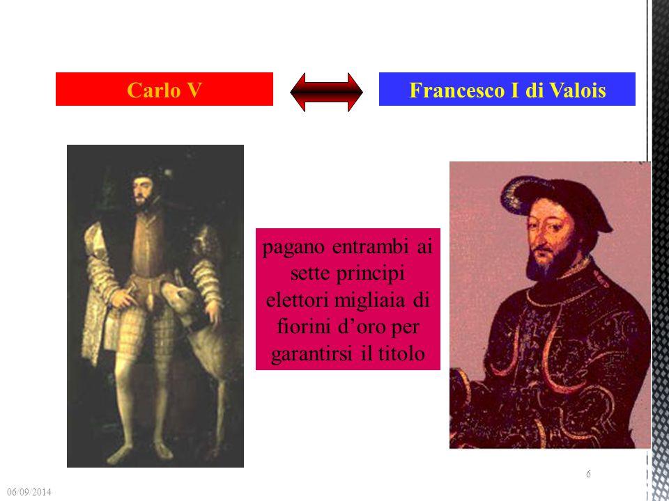 Carlo V Francesco I di Valois