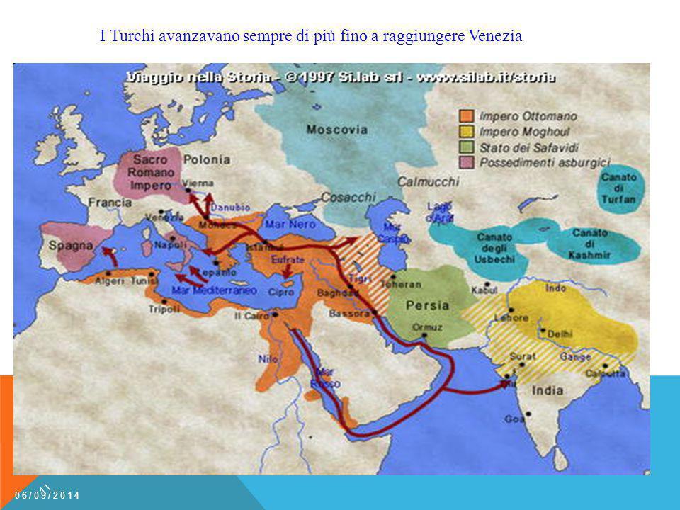 I Turchi avanzavano sempre di più fino a raggiungere Venezia