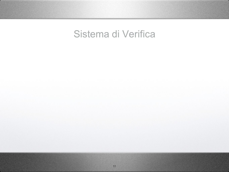 Sistema di Verifica