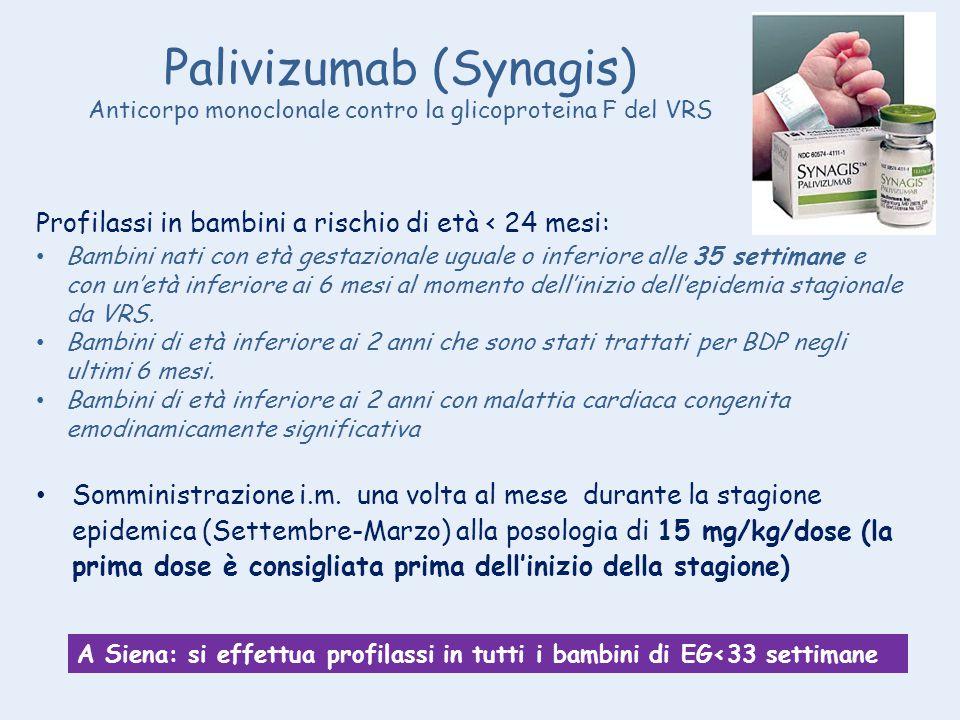 Palivizumab (Synagis)