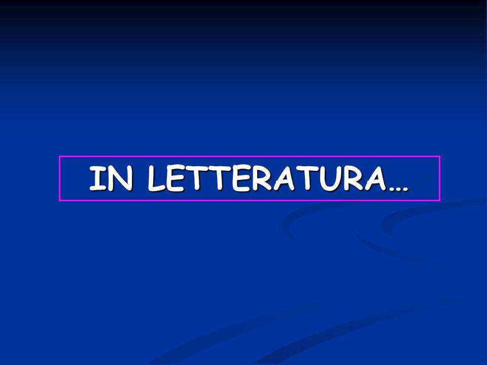 IN LETTERATURA… 4