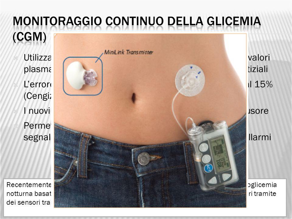 I nuovi modelli comunicano via wireless con il microinfusore
