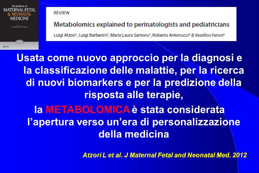 Usata come nuovo approccio per la diagnosi e la classificazione delle malattie, per la ricerca di nuovi biomarkers e per la predizione della risposta alle terapie,