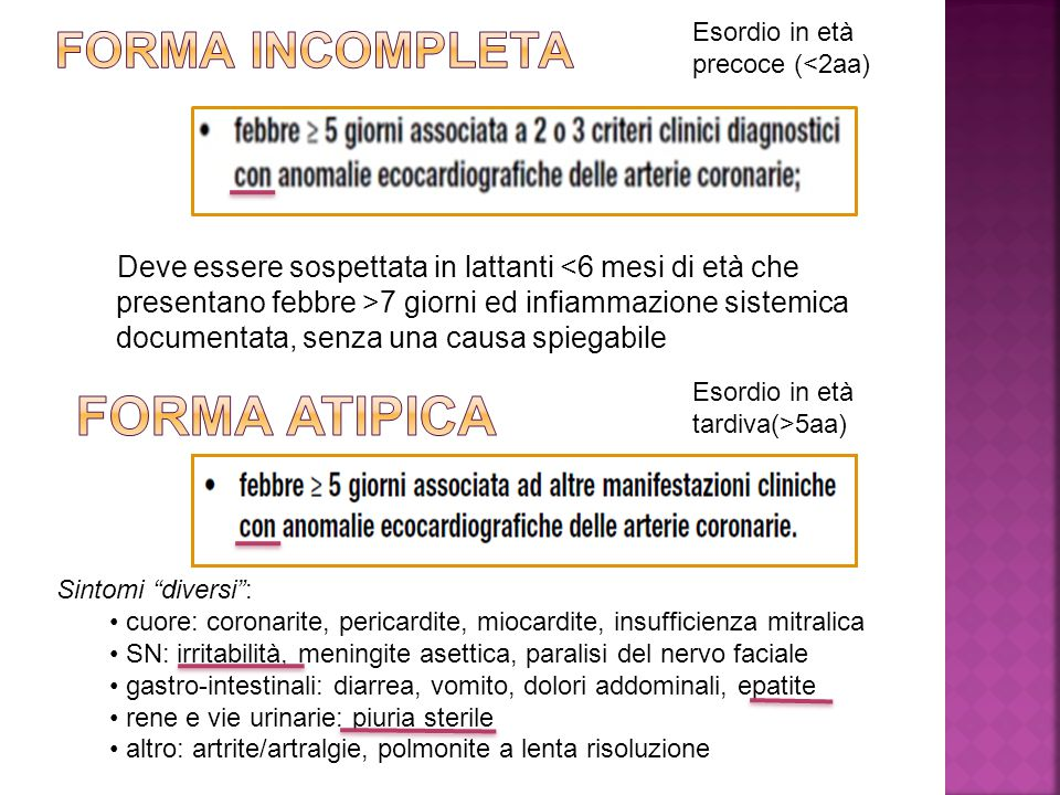 FORMA ATIPICA FORMA INCOMPLETA