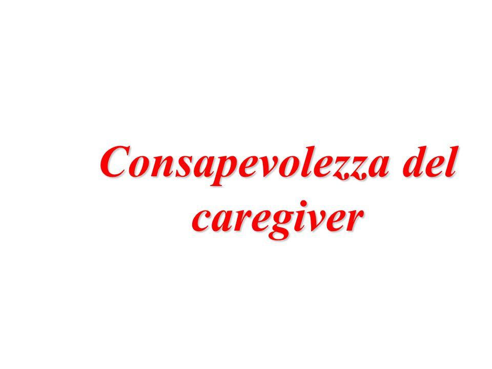 Consapevolezza del caregiver