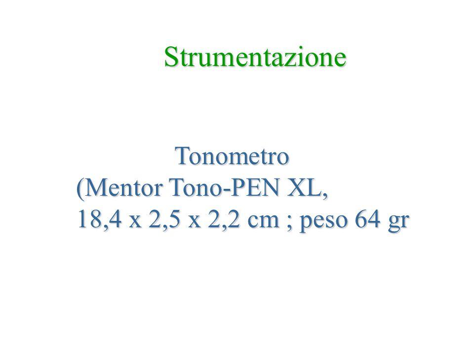 Strumentazione Tonometro (Mentor Tono-PEN XL,