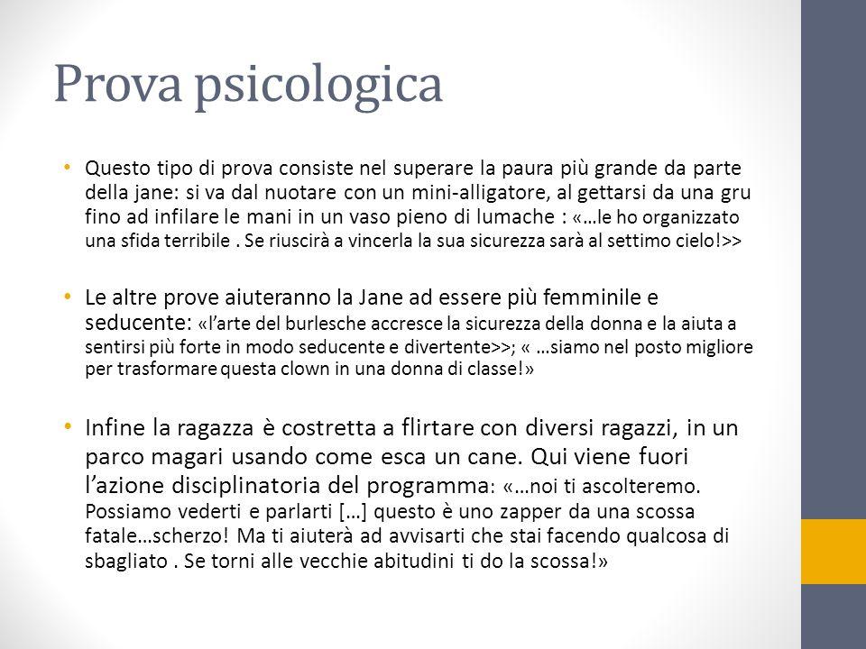 Prova psicologica