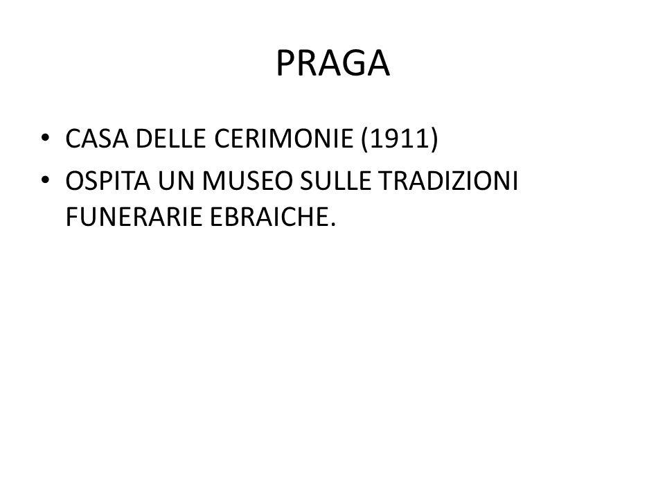 PRAGA CASA DELLE CERIMONIE (1911)