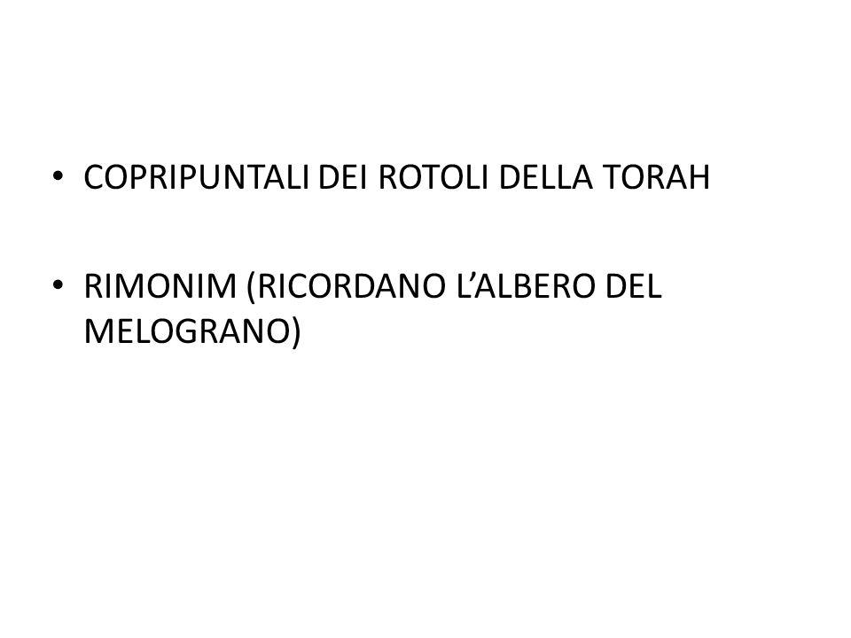 COPRIPUNTALI DEI ROTOLI DELLA TORAH