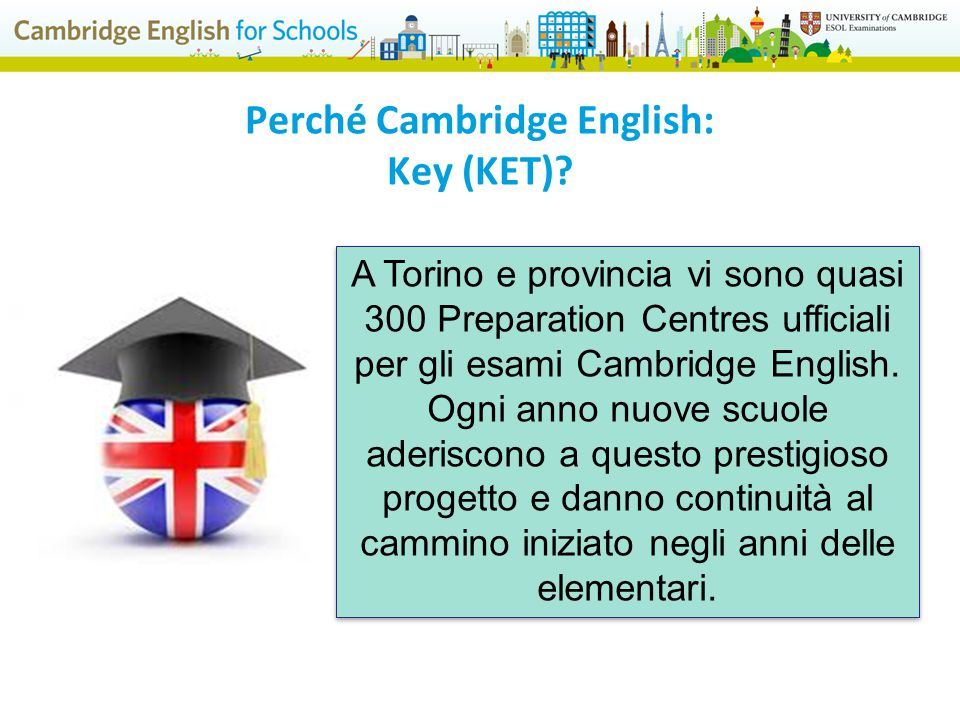 Perché Cambridge English: Key (KET)
