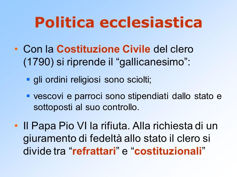Politica ecclesiastica