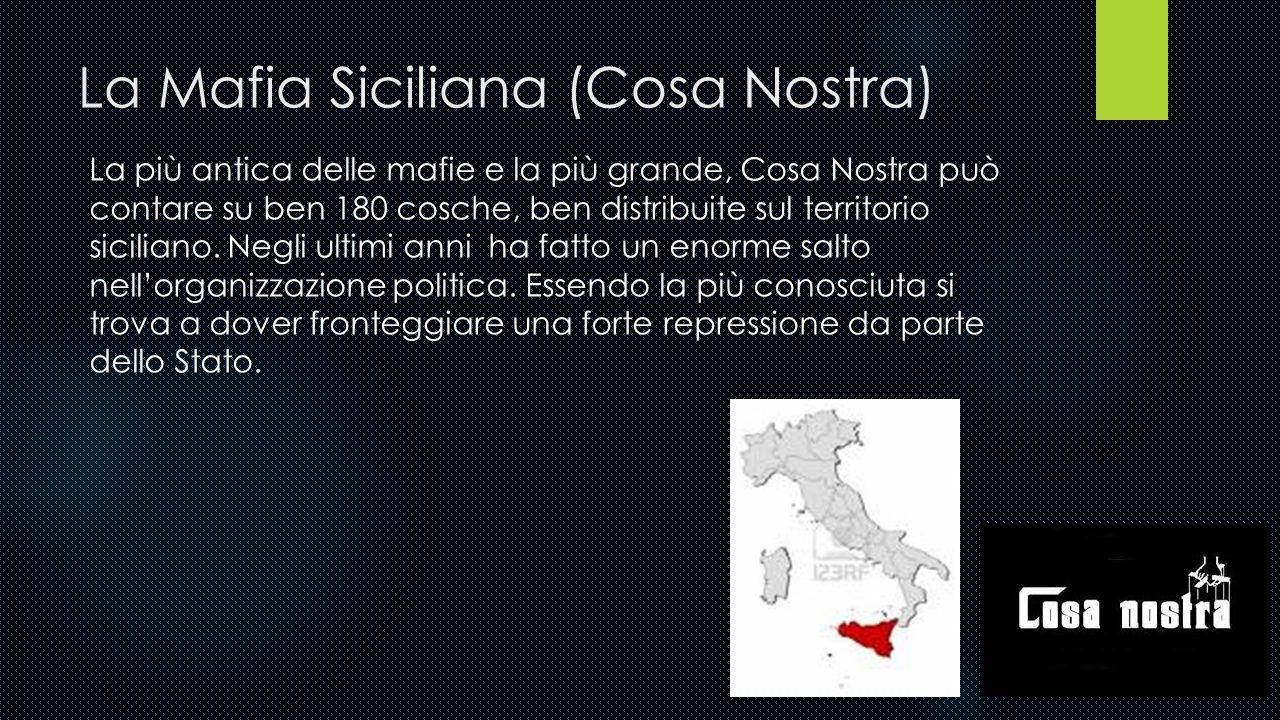 La Mafia Siciliana (Cosa Nostra)