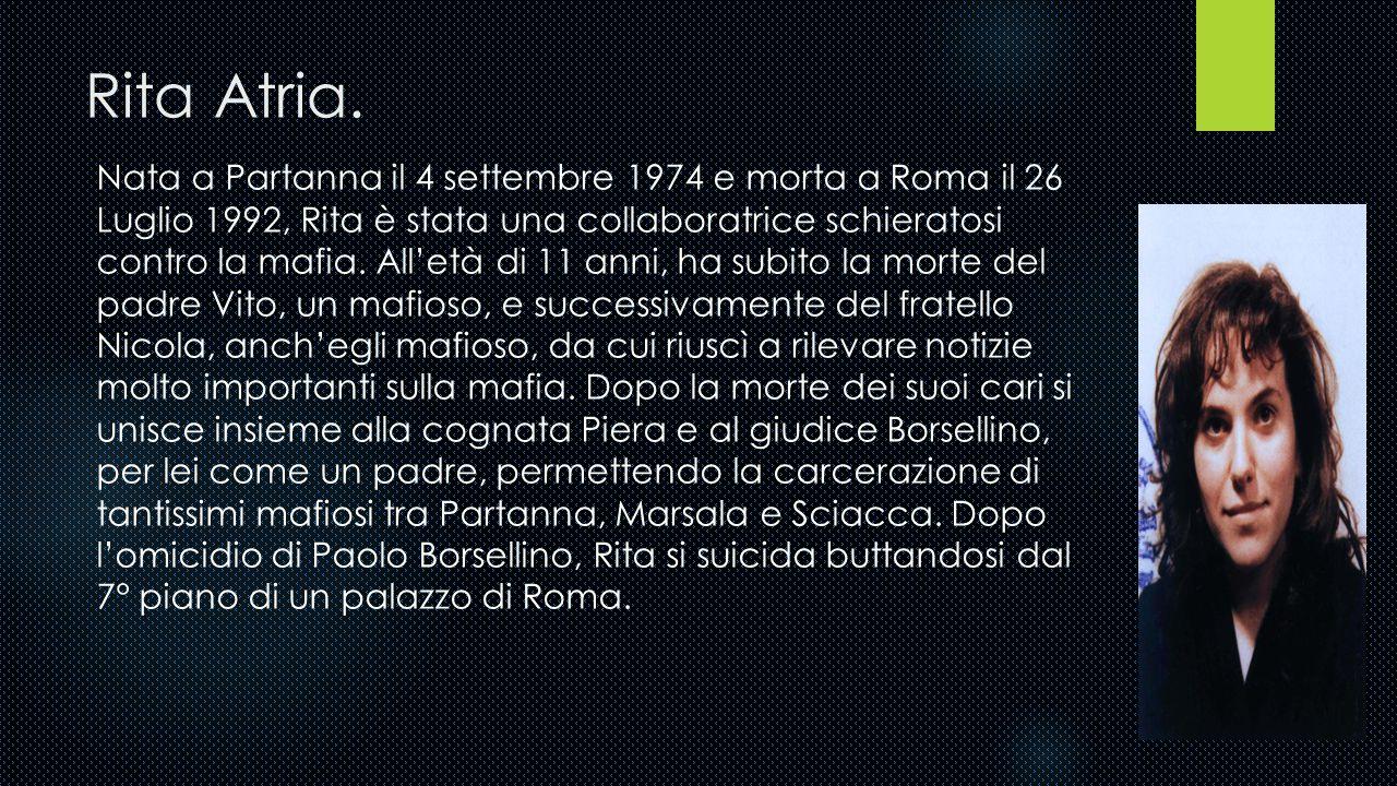 Rita Atria.