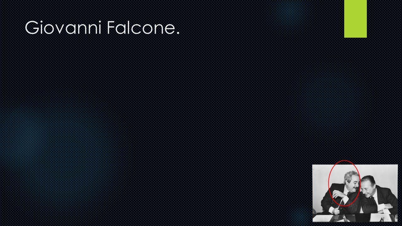 Giovanni Falcone.