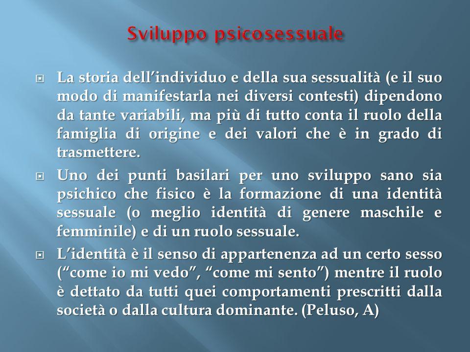 Sviluppo psicosessuale