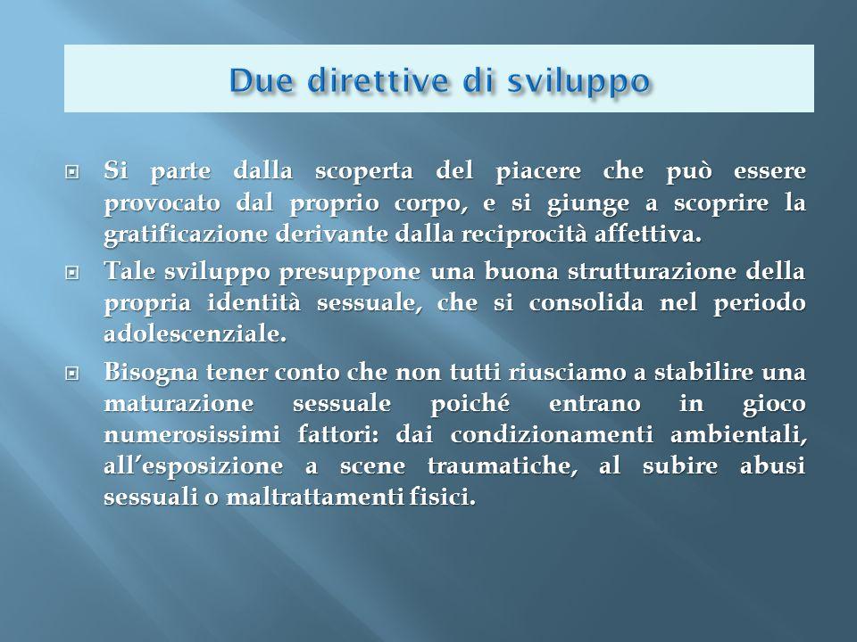 Due direttive di sviluppo