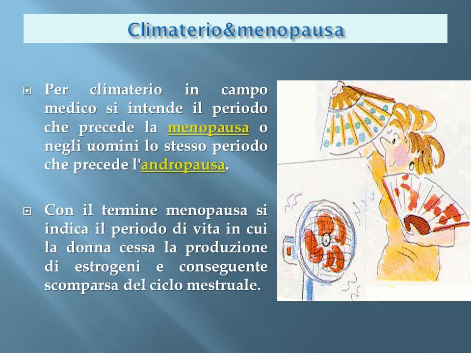 Climaterio&menopausa