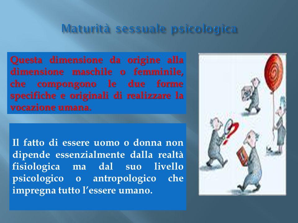 Maturità sessuale psicologica