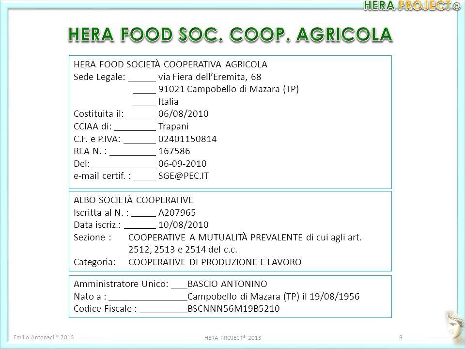 HERA FOOD SOC. COOP. AGRICOLA