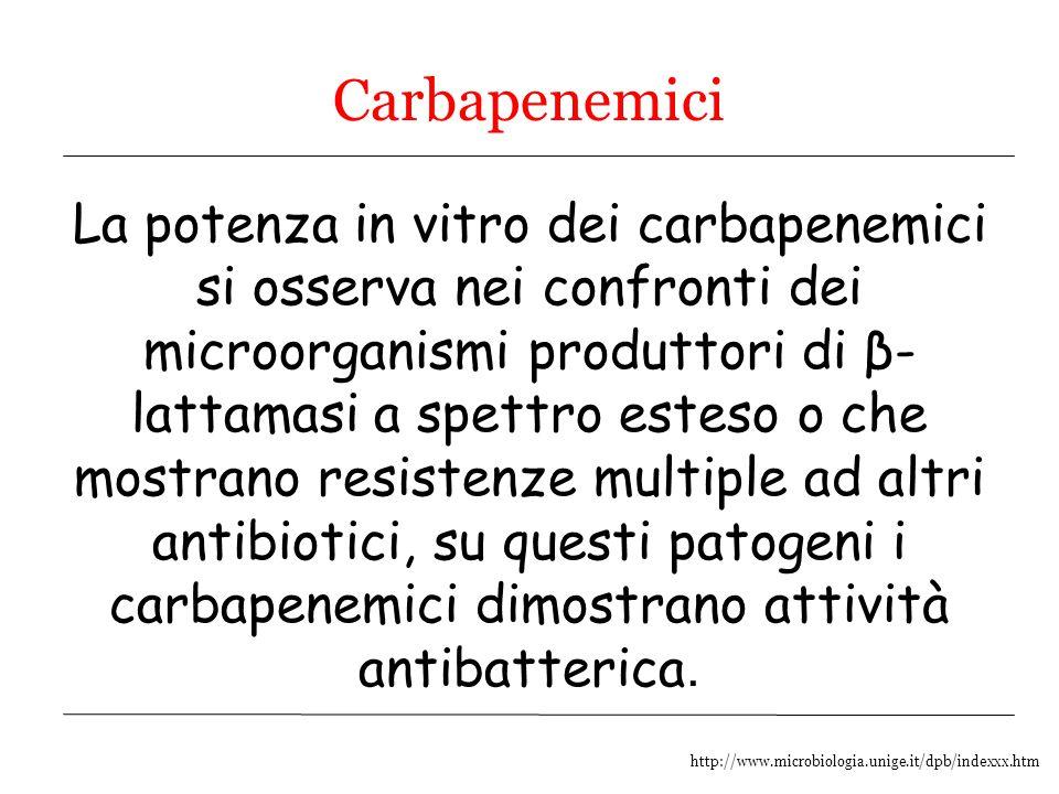 Carbapenemici