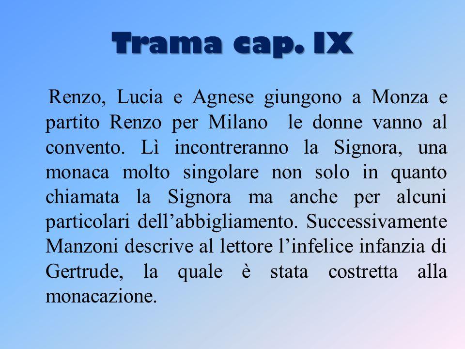 Trama cap. IX