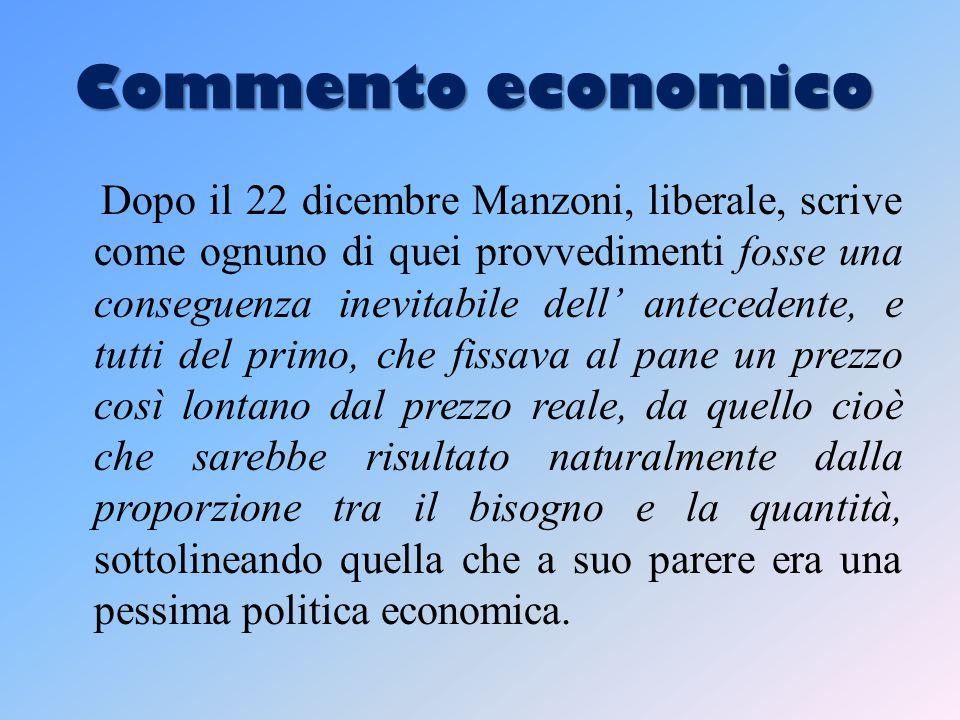 Commento economico