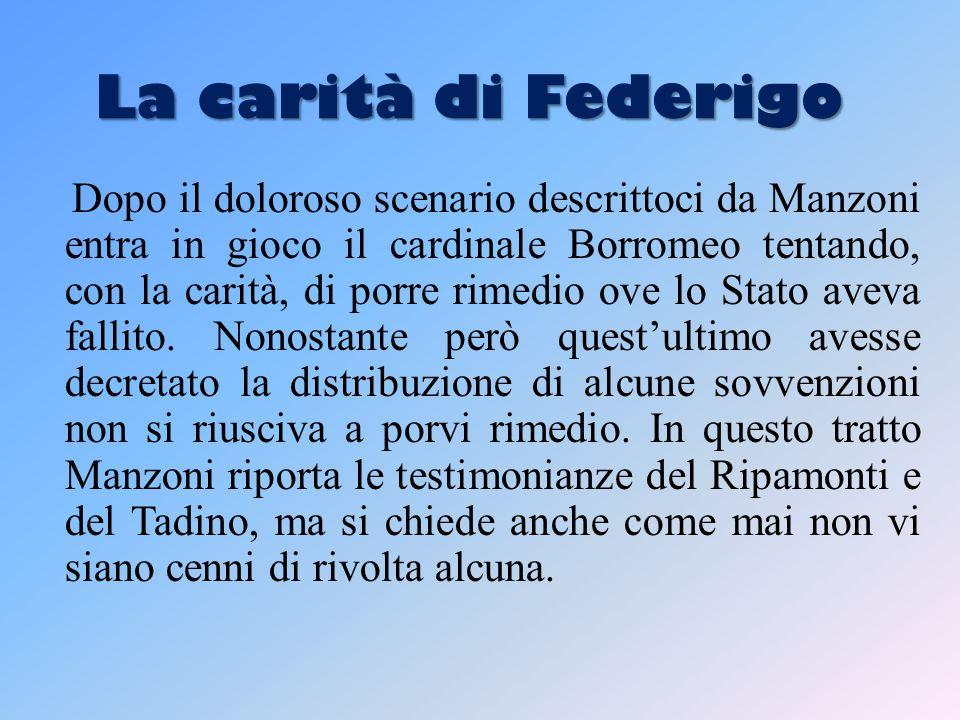 La carità di Federigo