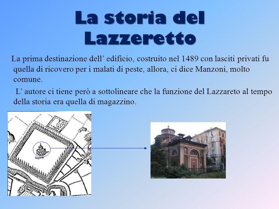 La storia del Lazzeretto