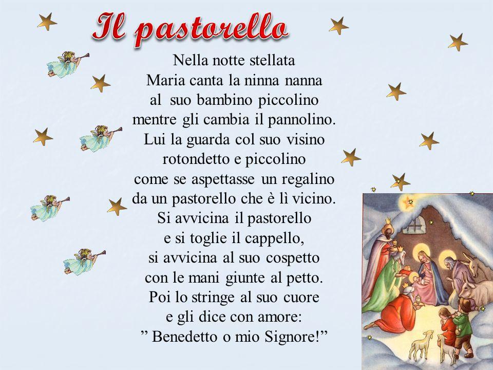 Il pastorello Nella notte stellata Maria canta la ninna nanna