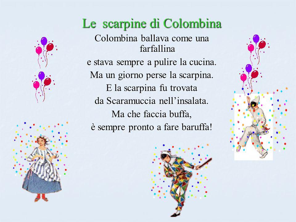 Le scarpine di Colombina