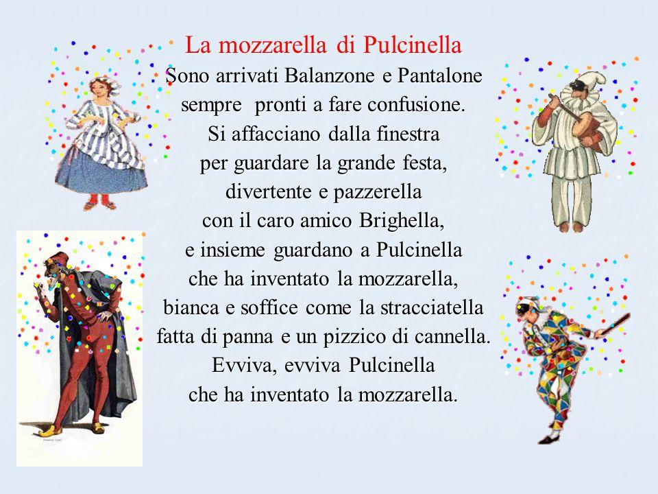 La mozzarella di Pulcinella
