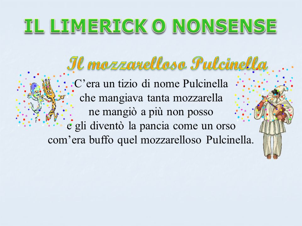 Il mozzarelloso Pulcinella