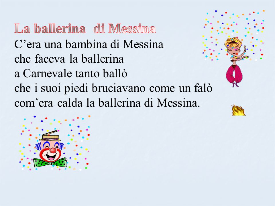 La ballerina di Messina