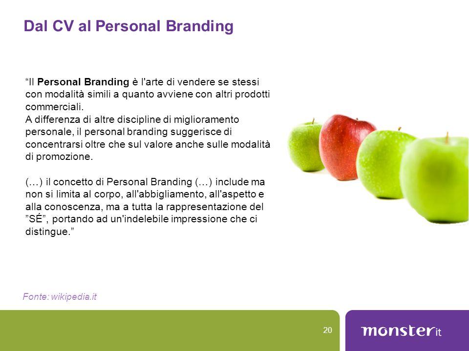 Dal CV al Personal Branding
