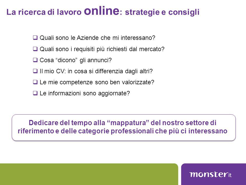 La ricerca di lavoro online: strategie e consigli