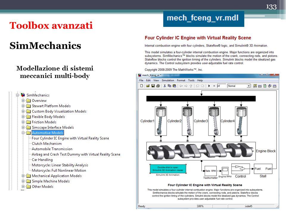 Modellazione di sistemi meccanici multi-body