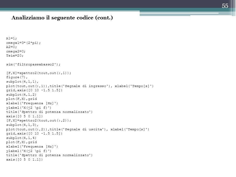 Analizziamo il seguente codice (cont.)