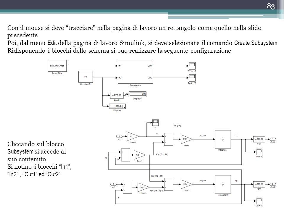 Con il mouse si deve tracciare nella pagina di lavoro un rettangolo come quello nella slide precedente.