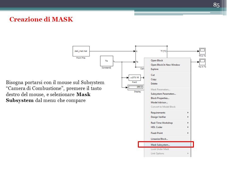 Creazione di MASK