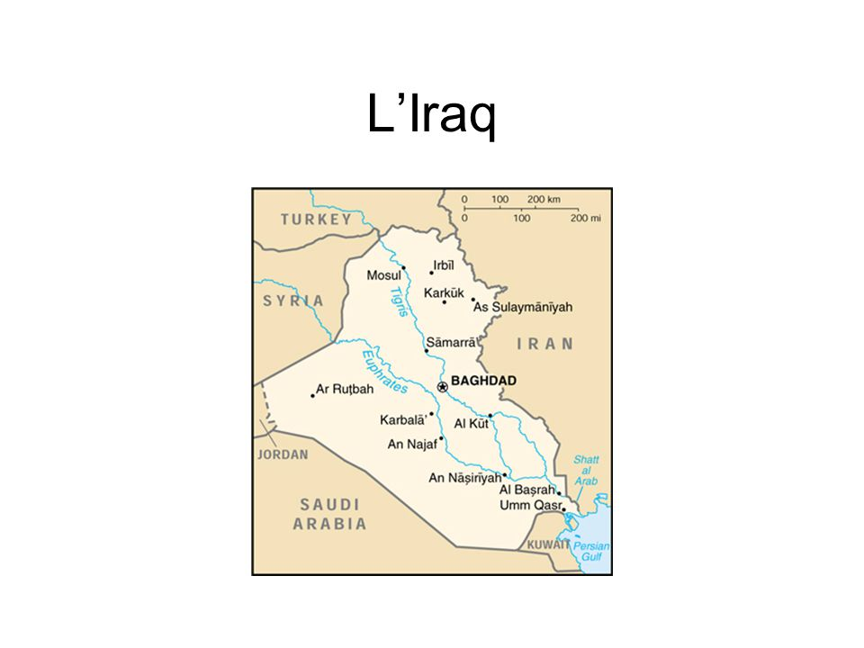 L'Iraq