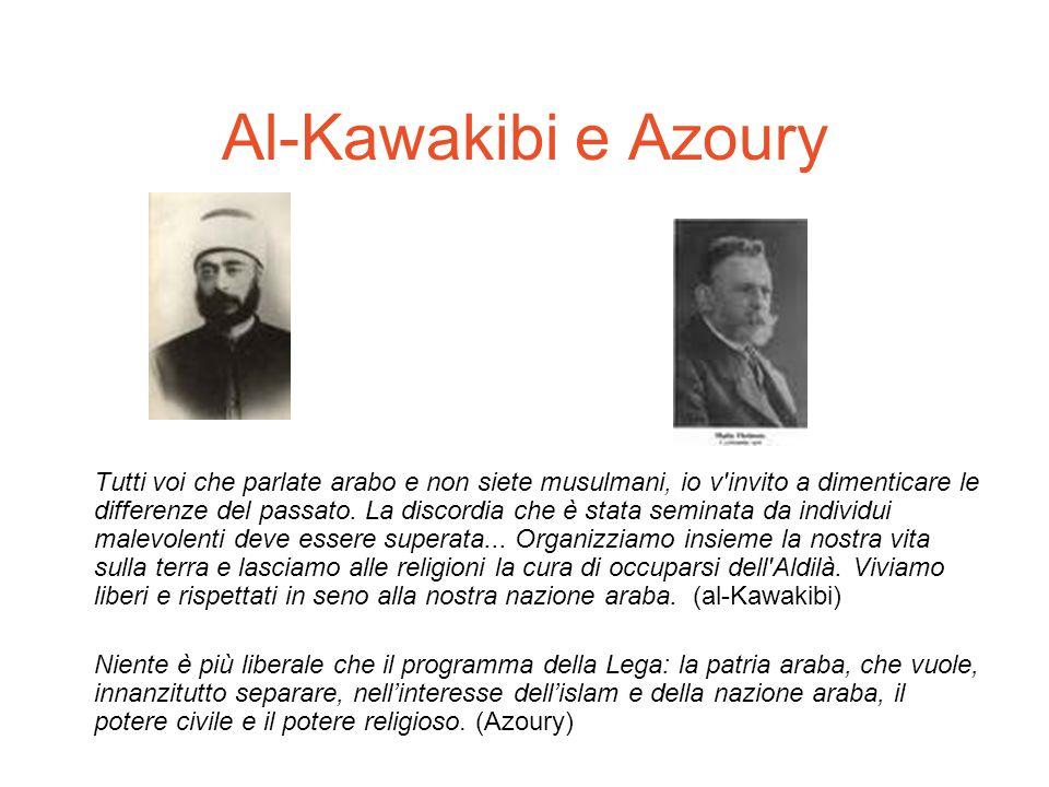 Al-Kawakibi e Azoury